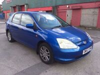 Honda Civic 1.7 i CTDi Imagine Hatchback 5dr (FULL SERVICE HISTORY) 2003