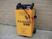 Battery Chargers 12V 24V Portable Booster 430 - Car, truck, lorry, van, tractor, garage, power tools