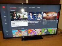 50 INCH SMART HITACHI FULL HD LED TV+BUILT IN APPS+WIFI VIA DONGLE+REMOTE+DELIVERY