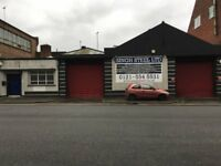 TO LET - Industrial/ Warehouse/ Workshop Premises with offices - Busy Main Road