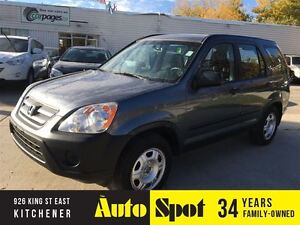 2005 Honda CR-V LX/METICULOUSLY MAINTAINED FROM NEW/PRICED FOR A
