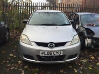 2005-2008 MAZDA5 MPV ( FOR PARTS ONLY ) FULL CAR £300