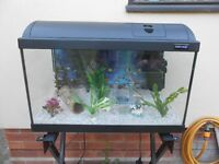Aquarium 72 Litre with Lights/ Heater and Power Filter everything needed