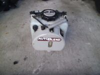 auto blend for outboard mercury