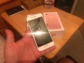 Iphone 7 - 32gb - rose gold EE