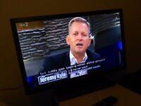 """Excellent 32"""" BUSH TITANIUM LED TV hd ready freeview"""
