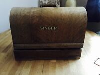 Antique Singer Sewing Machine 1937