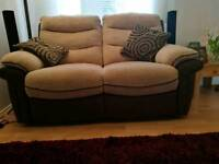 Gorgeous Reclining Double Sofa