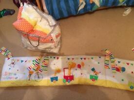 Mamas and papas brand new bedding and nursery set