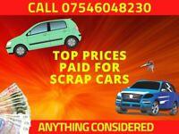 FIAT CRYSLER AUTOMATIC CARS VANS 4X4 VEHICLES MOTORS PART SCRAP COMMERCIAL WANTED £1000 PAID
