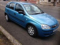 04 CORSA 1.2 LIFE 5 DOOR . MOT TILL MARCH 2017