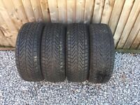 Vredestein 205/55/16 giugiaro wintrack xtreme run flat winter tyres x 4