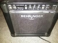 Behringer 15 watt guitar amp