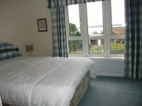 BEAUTIFUL DOUBLE BEDROOM WITH NEW LUXURY EN-SUITE BATHROOM AND HARBOUR VIEWS