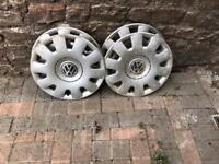 VW Wheel trims