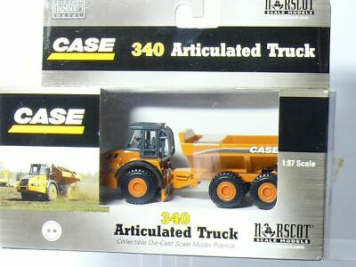 Norscot 21001 Case 340 Articulated Dump Truck H0 / 1:87 Boxed