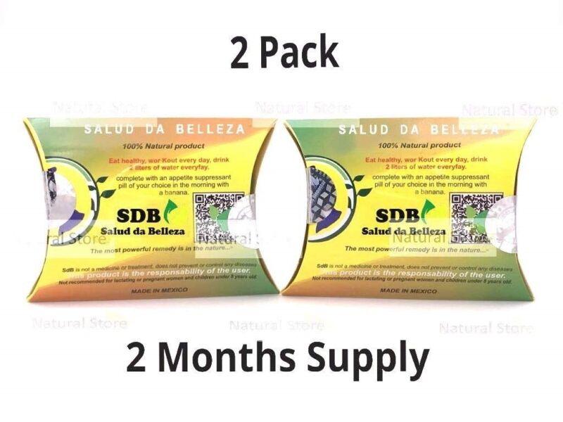2 PACK! Autentica Semilla de Brazil 100% Original/ Fat Burner/ Original Stamps!