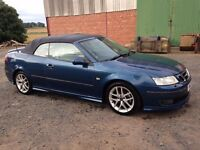 2003-2007 SAAB 9-3 93 2.0 AERO CONVERTIBLE BREAKING FOR SPARE PARTS ALL PARTS AVAILABLE