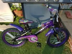 girls bike 5 -8 years