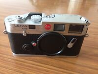 Leica M 6 body in chrome for sale