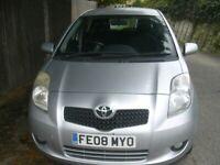 Toyota, YARIS, Hatchback, 2008, Manual, 1364 (cc), 5 doors