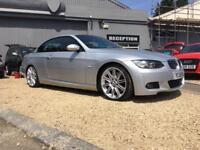 BMW 3 SERIES 3.0 330D M SPORT 2d AUTO 228 BHP (silver) 2008