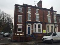 Bedsit flat. Pinderfields Road, Wakefield. City centre location.