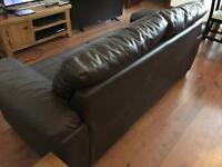 Two Seater Leather Sofa - in Excellent Condition SOLD!!!!!