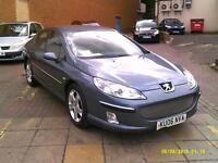 PEUGEOT 407 2.2 SE Luxury Pack (grey) 2006