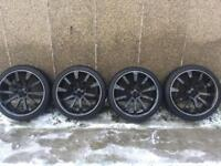 Audi Q7 22 inch Alloy wheels for sale with tyres FREE MOBILE FITTING
