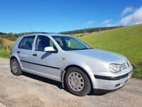 VW Golf 1.6 50k miles 9 months Mot and Tax. Garaged since new, Great car no issues.