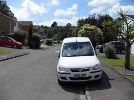2012 VAUXHALL COMBO 1700 SE CREW VAN 1.3 CDTI DIESEL DIRECT FROM A MAJOR COMPANY FOLD DOWN REAR SEAT