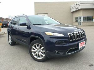 2016 Jeep Cherokee Limited**LEATHER HEATED AND VENTILATED SEATS*