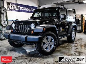 2009 Jeep Wrangler COMES WITH 3 TOPS! ALLOYS!