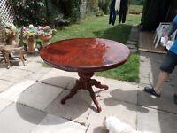 italian sorento dining table little used