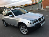 2006 BMW X3 2.0 D SE ESTATE SILVER, F/S/H, LONG MOT, NICE SPEC