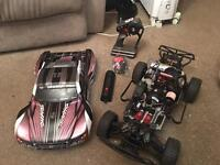 Rc petrol car not a toy over 50 mph