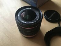 Olympus Zuiko 9-18mm lens almost new