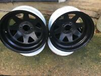 WELLER Wheels Steels 4 x 108 15 x 9J Peugeot Ford Citroen