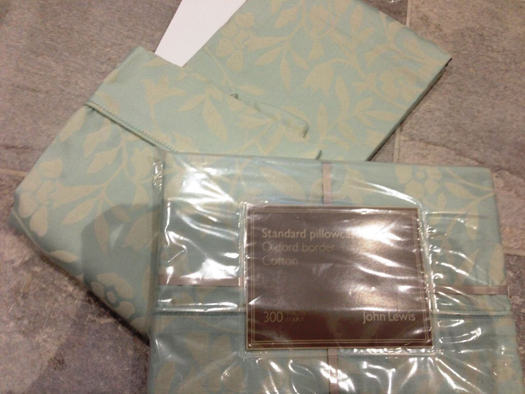 Sage Green Blossom Tree Two John Lewis Pillow Cases 163 8
