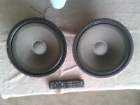FANE 12 inch 6 Ohm guitar speakers
