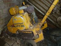 wacker plate Benford VPC 50 4 stroke petrol. large compactor for laying block paving ect.