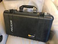 Pelican 1510 camera case.