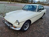 1974 MGB GT - Full history & restoration - 12m MOT