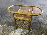 Bamboo breakfast table and chairs