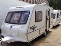 2004 Bailey Pageant Majestic 2 Berth End Kitchen Caravan with Motor Mover
