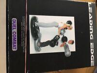 Dual combat inflatable set