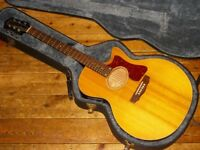Guild USA F4 CE cutaway electro acoustic with Fishman pickup system 1994