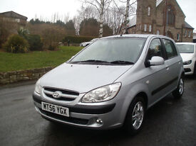 2007 Hyundai 1.4 Getx Automatic, Very Low 37000Miles, Owned By Same Family From New, Pristine