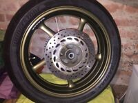 Yamaha XJ6 Diversion Rear Wheel with tyre
